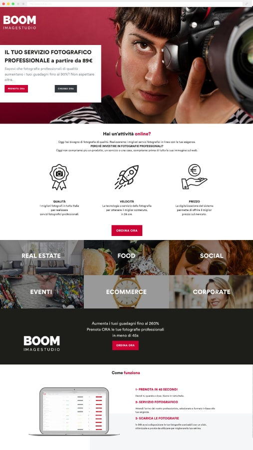 mockup boom image studio