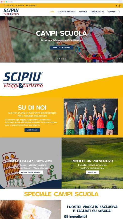 scipiu sito web