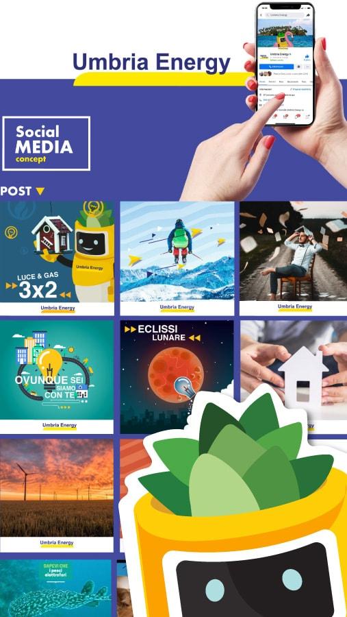 social media umbria energy